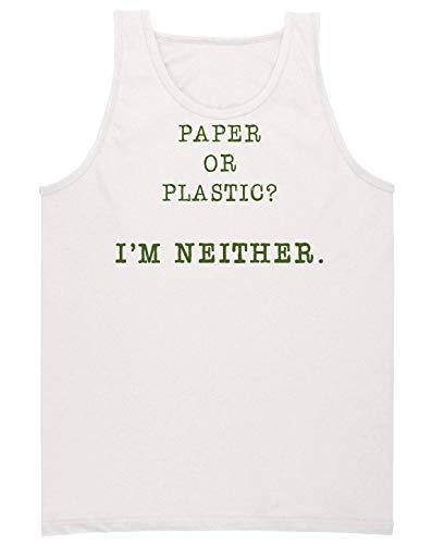 Ou Je Manches Pas Pour Sans Plus Blanc Papier Homme Plastique Chemise Non Ne Suis pwvdaE