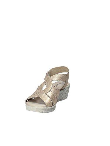 Zeppa 14401 Donna Flexx The Oro Scarpe Sandali 13 con AMARONES 7qw746HXx