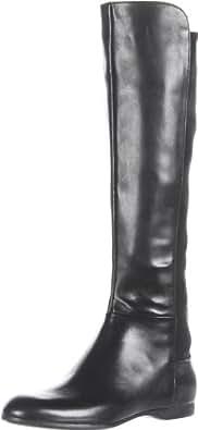 Enzo Angiolini Women's Zeric Knee-High Boot,Black Leather,8 M US