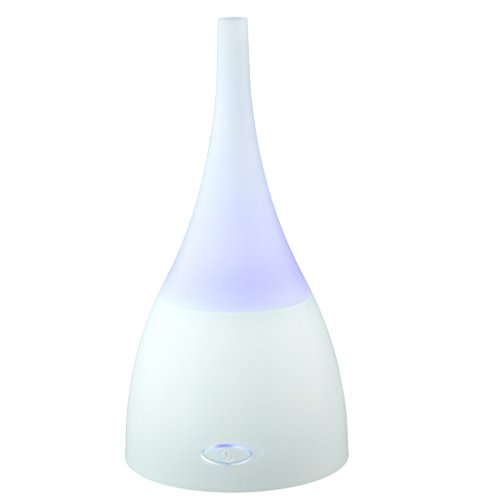 Price comparison product image Essential Oil Diffuser / Ultrasonic Super Quiet Humidifier by Boxiki Care / Cool Mist Aroma Diffuser with 7 Changing LED Color Lights,  Waterless Auto Shut-Off