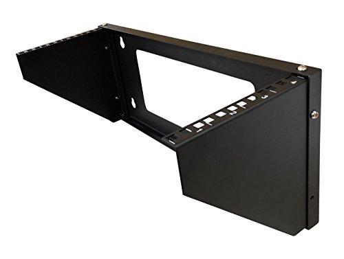 (Kenuco 4U 19 Inch Steel Vertical Rack and Wall Mountable Server Rack Mount)