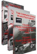 (The Complete World War II Film Library in 6 DVDs - Great WWII Battle Scenes, Propoganda and Bond FIlms, WWII Homefront Issues, Wartime Manufacturing, Pearl Harbor and More)