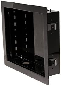 In-wall Mount for Upto 40IN Flat Panel Screens Gloss Black Discontinued by Manufacturer