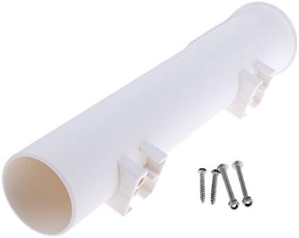 Baosity ロッドホルダー 竿掛け ロッドスタンド 竿立て  垂直ラック ボート用品 シングル/ダブル/4チューブ 全3タイプ