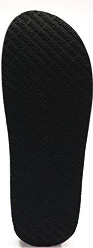 Paperplanes-1364 Scarpette Casual Alte Piattaforma Unisex Nere