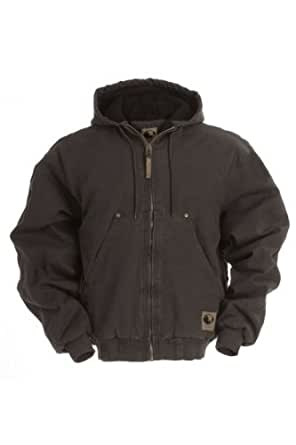 Berne Apparel HJ375 Men's Original Washed Hooded Jacket