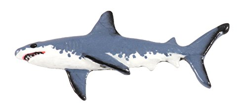 Creative Pewter Designs Great White Shark Hand Painted Lapel Pin, Brooch, Jewelry, SP112