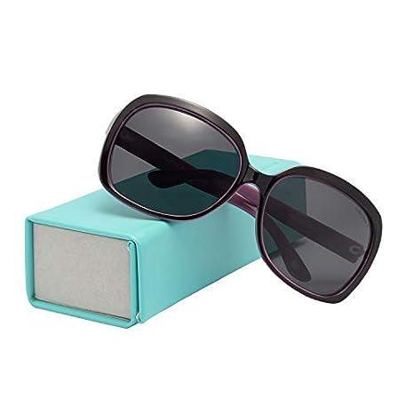 a3f4ec5a0e1 LIANSAN Designer Polarized Sunglasses Oversized PC Frame for Women Lady  P301-BL purple  Amazon.ca  Luggage   Bags