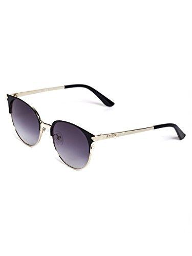 GUESS Women's Matte Round Sunglasses