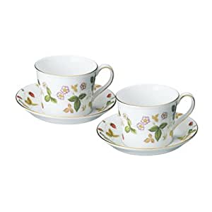 Wedgwood wild strawberry cup