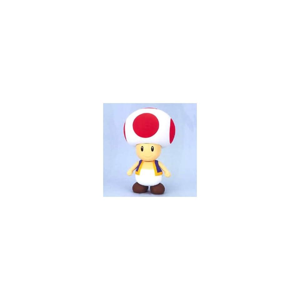 Nintendo Super Mario Bros. 7 inch Toad Vinyl Action Figure
