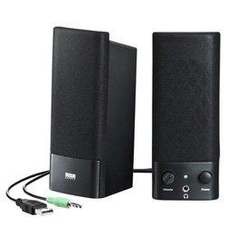 【まとめ 10セット】 サンワサプライ USB電源マルチメディアスピーカー MM-SPL2NU2   B07KNVBGP9