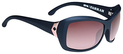 Spy Optic Farrah 673011033355 Wrap Sunglasses, 62 mm (Femme Fatale/Happy Bronze Fade)