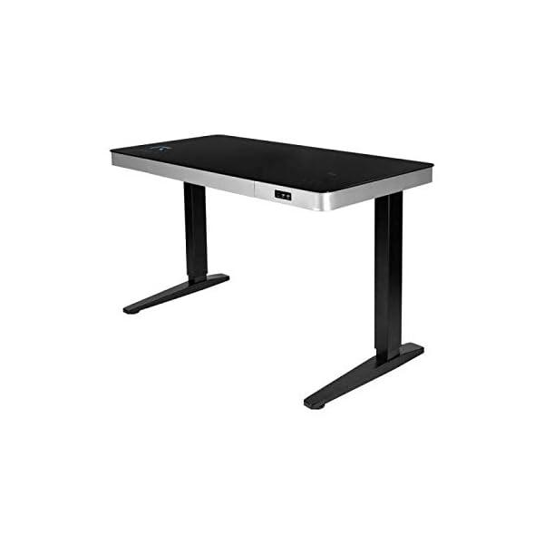 REKT RGo Touch Desk 120 Noir Bureau Électrique réglable en Hauteur 120x60x73-118 cm Bureau Assis-Debout – Chargement…