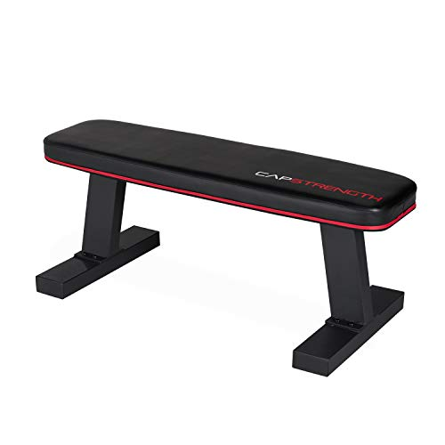 CAP Barbell CS Flat Bench, Black by CAP Barbell