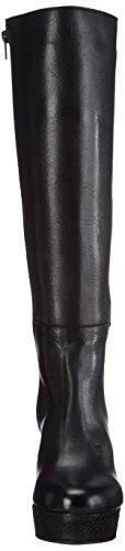 Shoot SH215105 - botas de caño alto de cuero mujer negro - negro