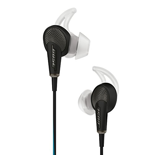 Bose QuietComfort 20 Acoustic Noise Cancelling Headphones, Apple Devices, Black -