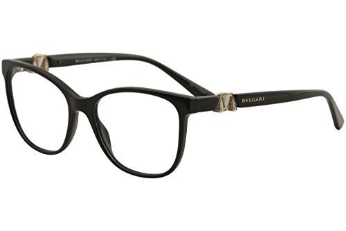 Bvlgari Women's BV4118B Eyeglasses Black (Bulgari Eyeglasses)
