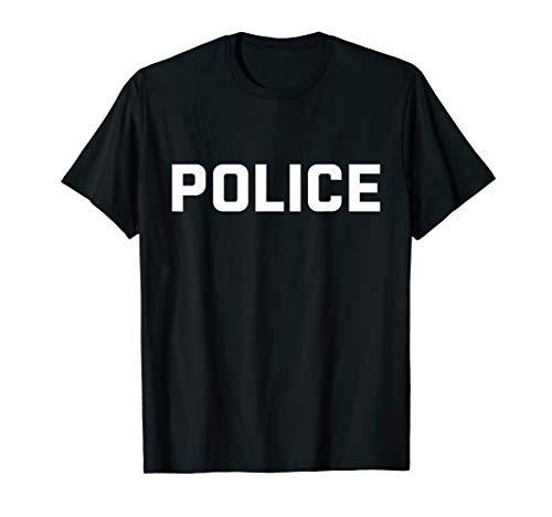 Police T-Shirt for Halloween Costume - Cop Cheap