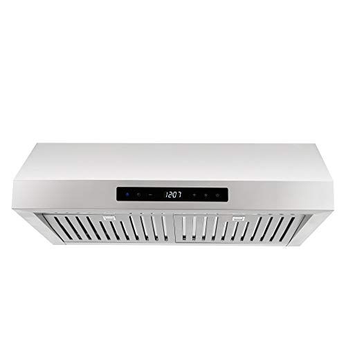 Cosmo UMC30 Stainless Steel Under Cabinet Range Hood, 30 Inches ()