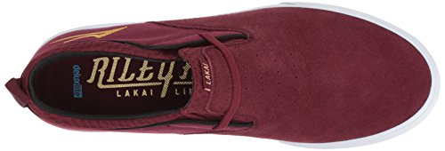 good selling Lakai Riley Hawk 2 Shoes - Black Burgundy free shipping cost get to buy sale online CUYm2Yan