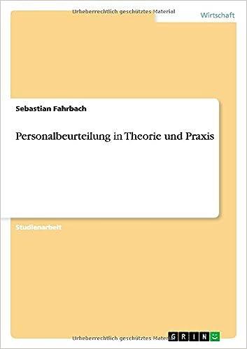 Buy Personalbeurteilung in Theorie Und Praxis Book Online at Low ...