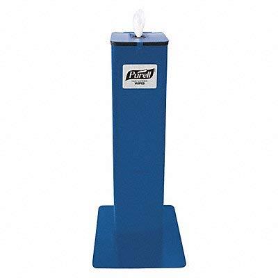 Dispenser Stand, Free Standing, Blue