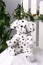 "Recordable Talking Stuffed Dog Kit - 15"" Talking Dalmation"
