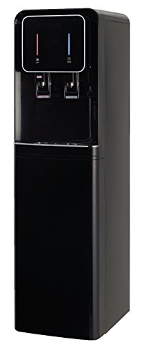 International H2O Reverse Osmosis Hot/Cold Pour Water Cooler, Black Reverse Osmosis Water Cooler