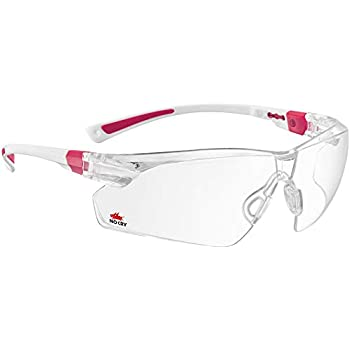 2c0ed8e014aa NoCry Safety Glasses with Clear Anti Fog Scratch Resistant Wrap-Around  Lenses and No-Slip Grips