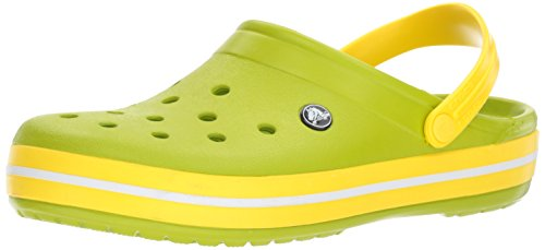 Crocs Women's amp; Lemon Volt Crocband Clog Green Men's rfrUSqwcB
