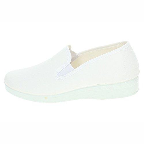 Femme Chapines Chapines Chaussures Chaussures Femme Blanc Chaussures Femme Blanc Chapines Blanc Chapines xWwqaR16Sf