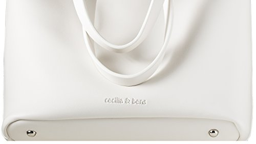 amp;bens cecilia pour Standard White femme Cabas RdxEawqrd