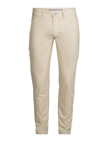 Icebreaker Pocket - Icebreaker Merino Men's Connection Pants, Straw, Size 30