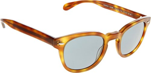 901681c3c5 Oliver Peoples 1483R8 Matte Tortoise Sheldrake Sun Round Sunglasses Lens  Catego