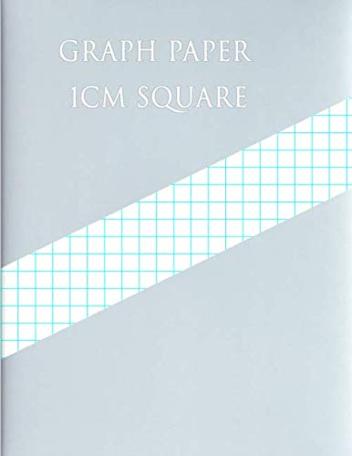 Graph Design - GRAPH PAPER 1CM SQUARE: 1 Square/centimeter 100 pages (Large, 8.5 x 11)Graph Paper with one line per centimeter on letter-sized paper This ... has one aqua blue line every centimeter.