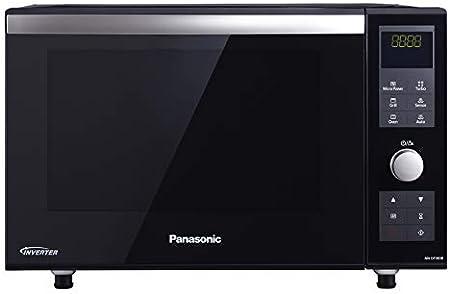 Panasonic NN-DF383 - Microondas Horno con Grill Combinado (1000 W, 23 L, 6 niveles, Inverter, Grill 1000 W, 100-220ºC, 16 modos, recubrimiento antiadherente sin plato) Negro: 227.12: Amazon.es: Informática