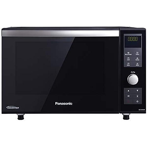 Panasonic NN-GD38H - Microondas con Grill (1000 W, 23 L, 6 niveles ...
