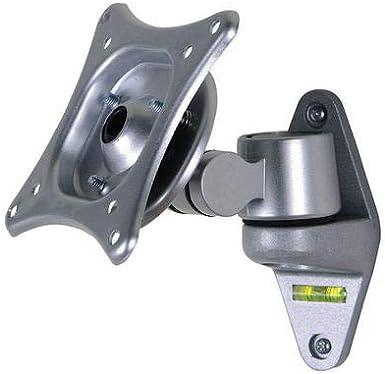 WM1001 Aluminum Alloy 360 Degree Flexible Rotation 10-24 LCD TV Wall Mount Ultra-Thin Monitor Holder Rack