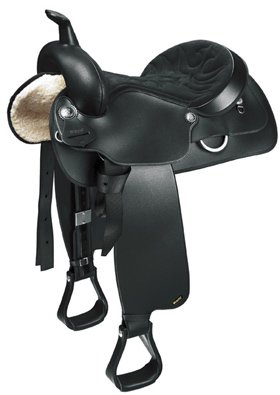 Wintec Synthetic Saddle Black 15 Inches