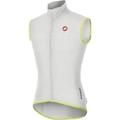 Castelli 2014 Men's Fawesome Cycling Vest - C11509 (white/reflective yellow fluo - XL) ()