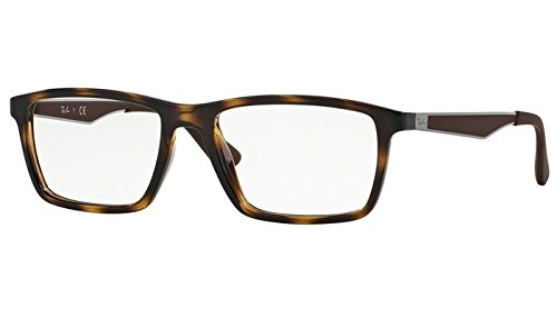 Ray Ban RX7056 Eyeglasses 53-17-145 Shiny Havana 2012 RX - Cat Ban Ray Wayfarer Eye
