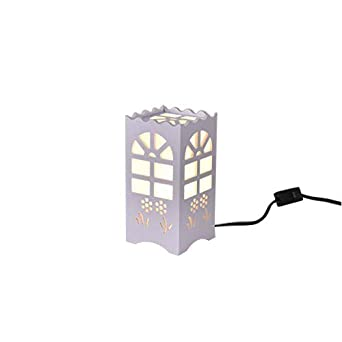 Kids Night Light Table Light White Art Light With Moon And Star