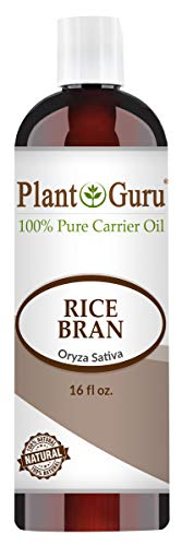 Rice Bran Oil 16 oz. 100% Pure Natural - Skin, Body And Face. Great for Hair & - Eye Rice Bran