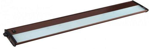 Maxim Lighting 87843MB Four Light Under Cabinet Strip, Metallic Bronze by Maxim Lighting ()