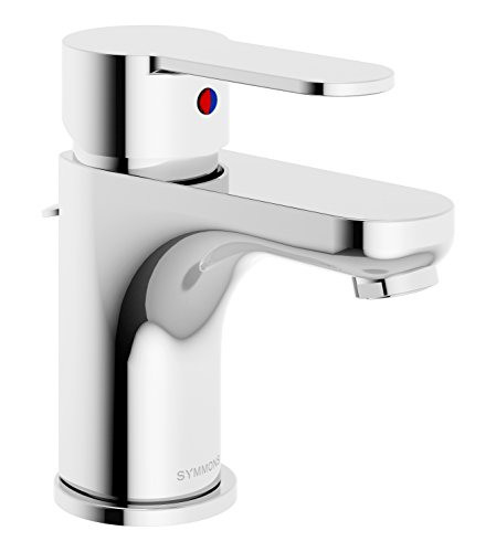 Symmons SLS-6712-1.5 Identity Single Hole Single-Handle Bathroom Faucet with Drain Assembly in Polished Chrome (1.5 GPM)