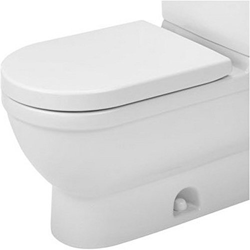 Duravit 2125010000 Elongated Starck 3 Toilet Bowl, White