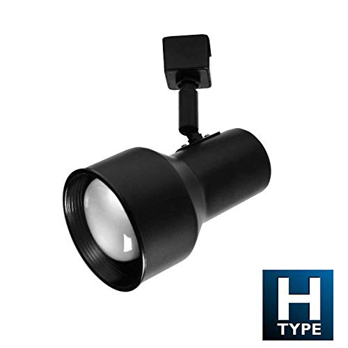 NICOR Lighting 10303BK Track Lighting Heads, Black