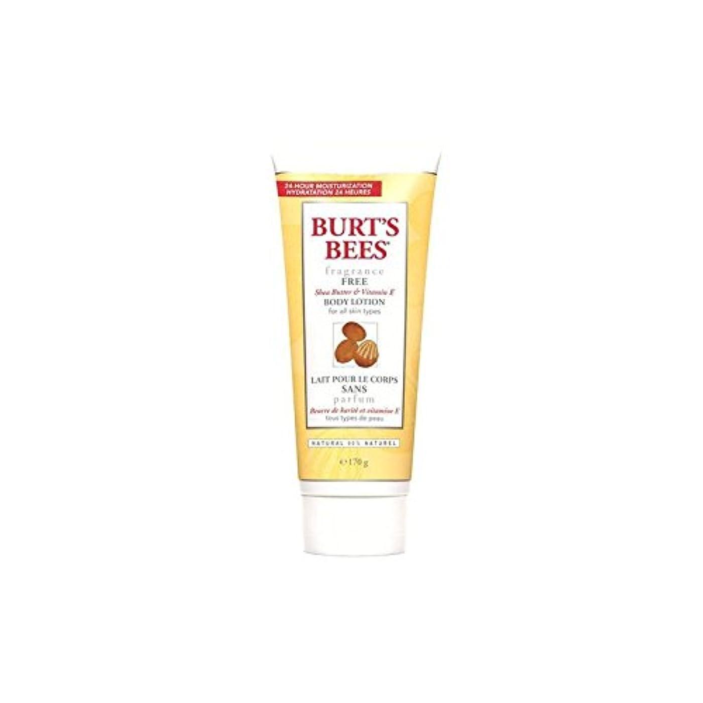 イヤホン艶推測するバーツビーボディローション - 無香料6オンス x2 - Burt's Bees Body Lotion - Fragrance Free 6fl oz (Pack of 2) [並行輸入品]