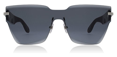Givenchy Women's Square Shield Sunglasses, Grey Black/Grey Blue, One - Eyewear Givenchy